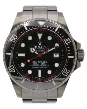 Rolex Deepsea PVD DLC Coated Stainless Steel Red Black Dial & Ceramic Bezel Oyster Bracelet 126660 - BRAND NEW