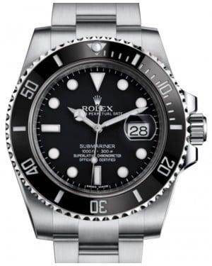 Rolex Submariner Date Stainless Steel Black Dial & Ceramic Bezel Oyster Bracelet 116610LN - BRAND NEW