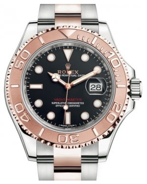 Rolex Yacht-Master 40 Rose Gold/Stainless Steel Black Dial Oyster Bracelet 126621 - BRAND NEW