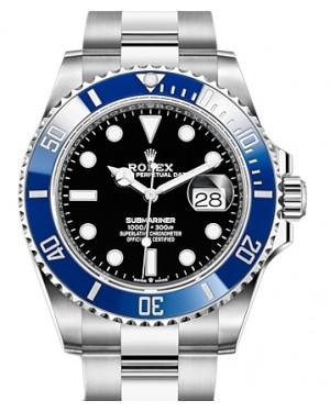 Rolex Submariner Date White Gold Black 41mm Dial & Ceramic Bezel Oyster Bracelet 126619LB - BRAND NEW