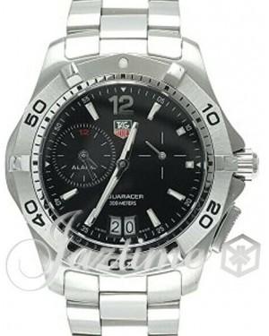 Tag Heuer Aquaracer Black Index Dial Stainless Steel Bezel & Stainless Steel Bracelet WAF111Z.BA0801