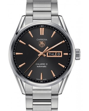 Tag Heuer Carrera Stainless Steel Black Index Dial & Stainless Steel Bracelet  WAR201C.BA0723 - BRAND NEW