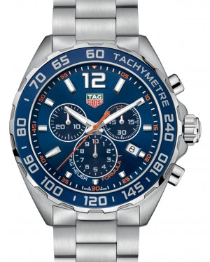 Tag Heuer Formula 1 Stainless Steel Blue Index Dial & Stainless Steel Bracelet CAZ1014.BA0842 - BRAND NEW