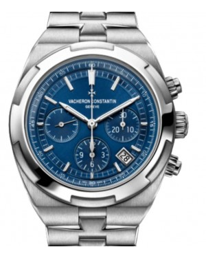 Vacheron Constantin Overseas Chronograph Stainless Steel 42.5mm Blue Dial Bracelet 5500V/110A-B148 - BRAND NEW