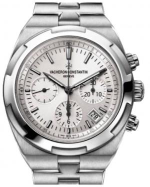 Vacheron Constantin Overseas Chronograph Stainless Steel 42.5mm White Dial Bracelet 5500V/110A-B075 - BRAND NEW