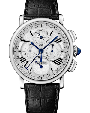 CARTIER W1556226 ROTONDE DE CARTIER 42MM 18K WHITE GOLD BRAND NEW