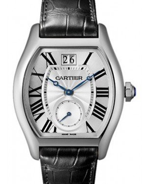 CARTIER W1556233 TORTUE 18K WHITE GOLD BRAND NEW