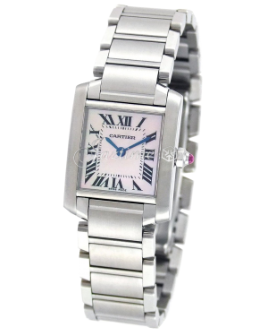 CARTIER W51028Q3 TANK FRANCAISE STEEL BRAND NEW