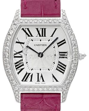 CARTIER WA501009 TORTUE 18K WHITE GOLD, DIAMONDS BRAND NEW