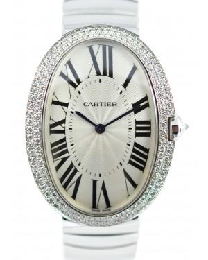 CARTIER WB520010 BAIGNOIRE 18K WHITE GOLD DIAMONDS BRAND NEW
