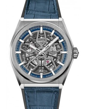 Zenith Defy Classic Titanium Silver Dial & Leather Strap 95.9000.670/78.R584 - BRAND NEW