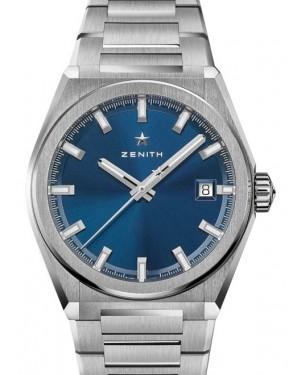 Zenith Defy Classic Titanium Blue Dial & Steel Bracelet 95.9000.670/51.M9000 - BRAND NEW