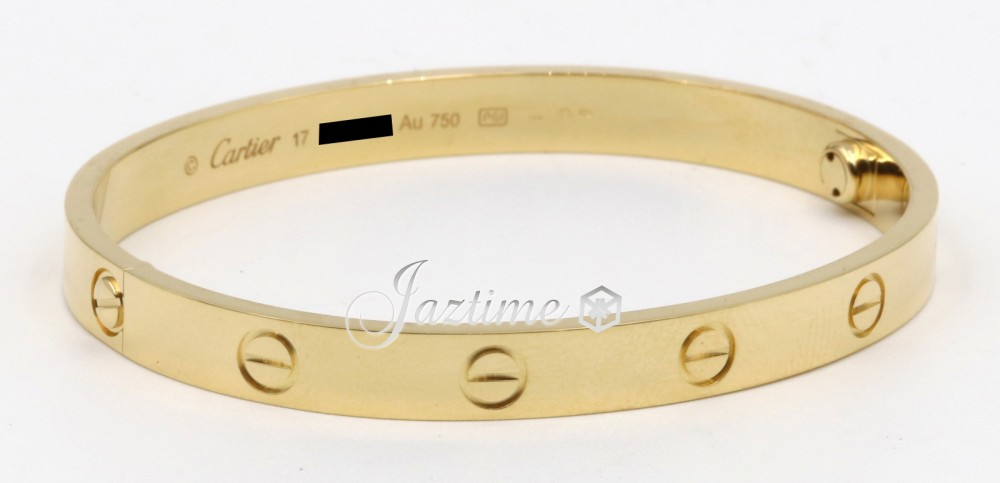 Cartier Love Bangle Bracelet B6035517