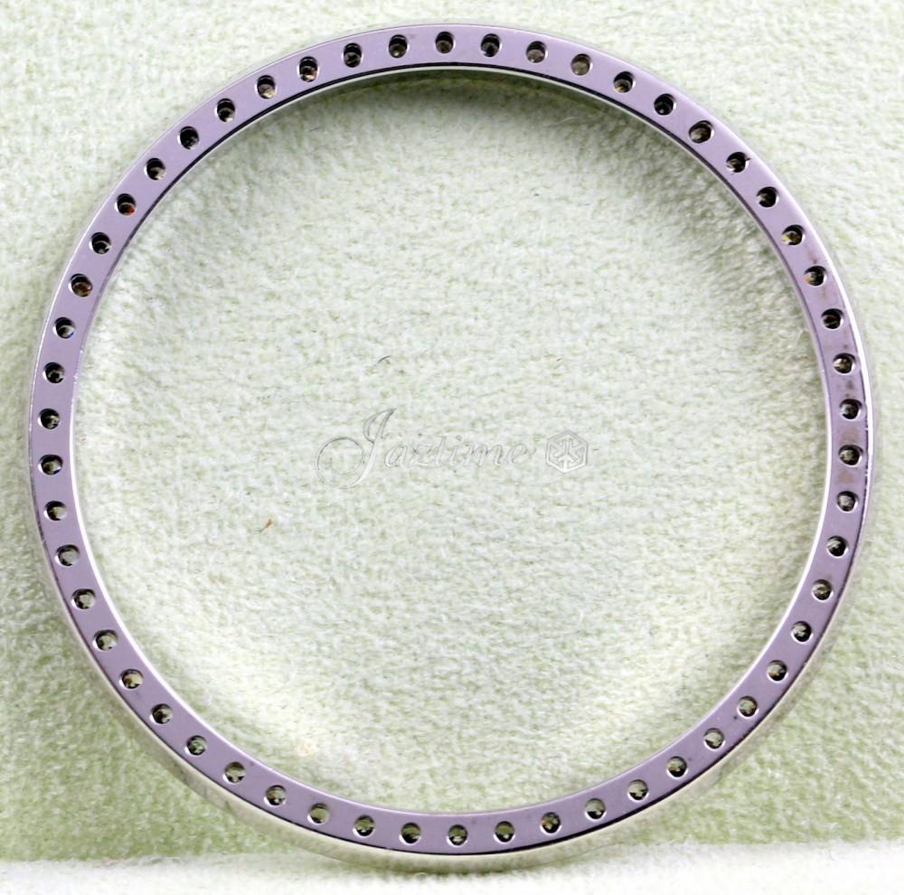 Rolex Diamond Bezel 36mm 1ct G-H Pave Set Diamond Mens Datejust Insert