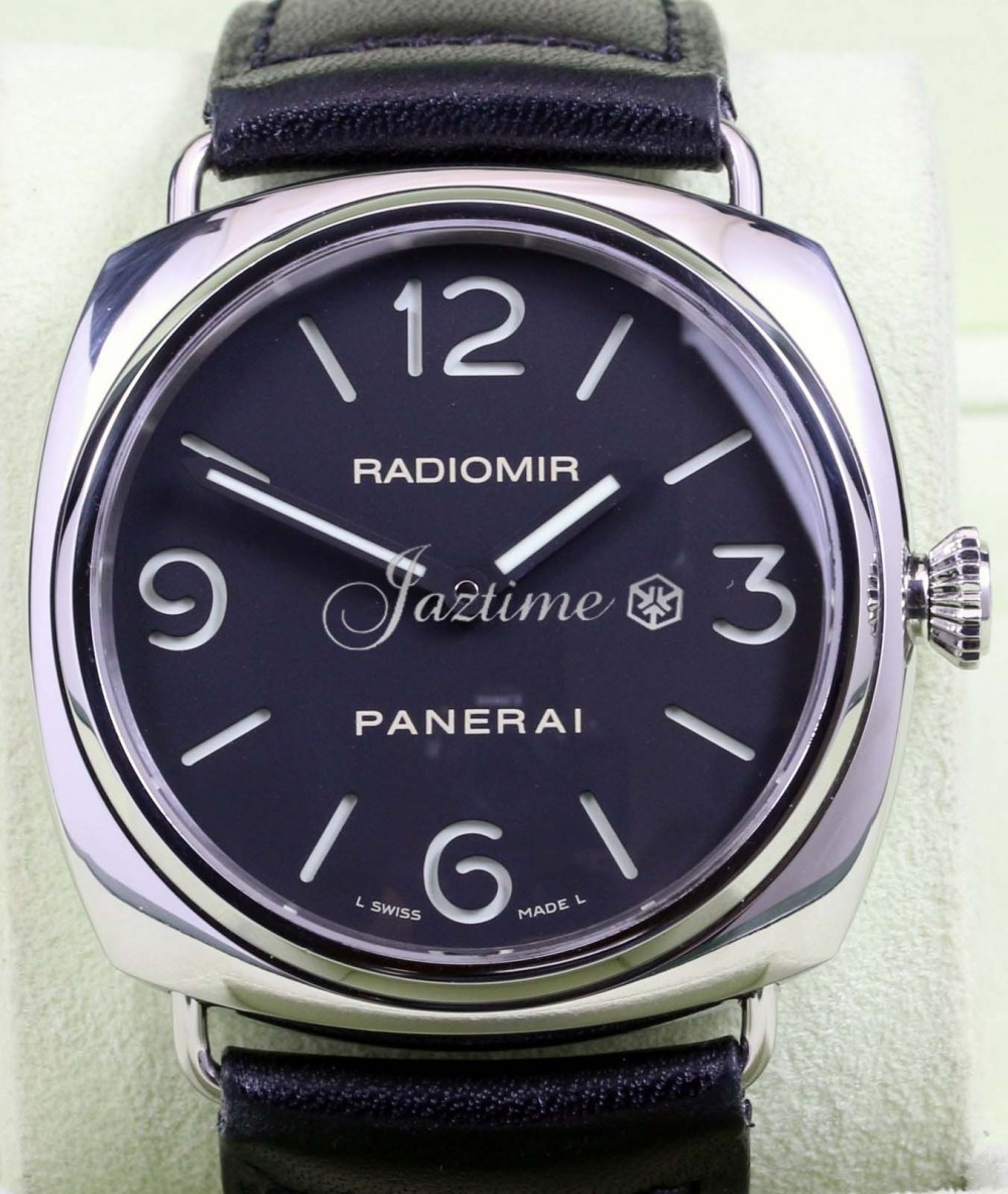 Panerai Pam 210 Historic Radiomir Men S 45mm Stainless Steel Leather