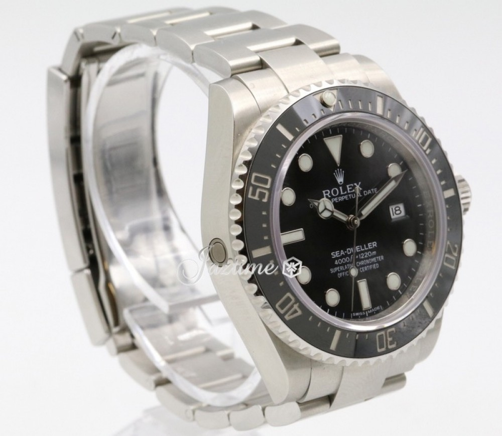 Rolex Sea Dweller 4000 116600 Men S 40mm Black Stainless Steel Oyster Diver Pre Owned