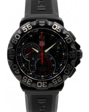 Tag Heuer Formula 1 Grande Date Men's Quartz Black Rubber 44mm CAH1012.FT6026