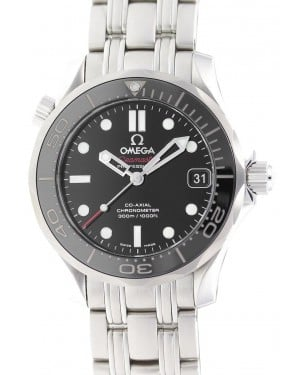 Omega 212.30.36.20.01.002 Seamaster Diver 300M Co-Axial 36.25mm Black Stainless Steel - BRAND NEW