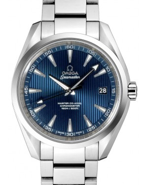 Omega Seamaster Aqua Terra 231.10.42.21.03.003 Blue Index 150 M Co-Axial Stainless Steel 41.5mm - BRAND NEW