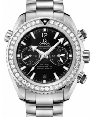 Omega 232.15.46.51.01.001 Planet Ocean 600M Co-Axial 45.5mm Black Diamond Bezel Stainless Steel BRAND NEW