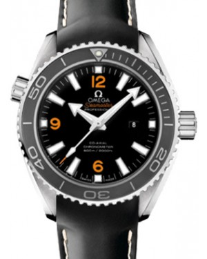 Omega 232.18.38.20.01.002 Planet Ocean 600M Co-Axial 37.5mm Black Ceramic Stainless Steel Rubber BRAND NEW