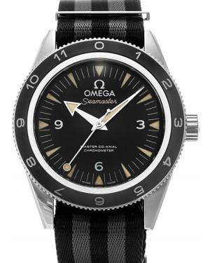 "Omega Seamaster 300 James Bond ""Spectre"" Black Grey Nato 41mm 233.32.41.21.01.001 - BRAND NEW"