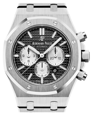 Audemars Piguet Royal Oak Chronograph Stainless Steel 41mm Black Index 26331ST.OO.1220ST.02 - BRAND NEW