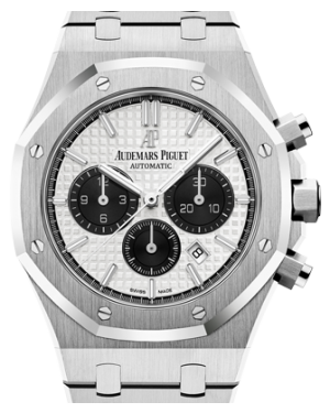 Audemars Piguet Royal Oak Chronograph 26331ST.OO.1220ST.03 Silver Index Stainless Steel 41mm - BRAND NEW