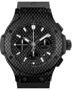 Hublot Big Bang 301.QX.1724.RX Carbon Fiber Index Carbon Fiber & Rubber 44mm BRAND NEW