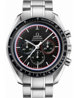Omega 311.30.42.30.01.003 Speedmaster Moonwatch Professional 42mm Black Index Stainless Steel BRAND NEW