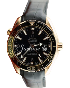 OMEGA 232.63.46.21.01.001 SEAMASTER PLANET OCEAN 600 M CO-AXIAL 45.5 MM RED GOLD - BRAND NEW