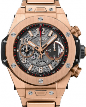 Hublot Big Bang Unico 411.OX.1180.OX Skeleton Arabic Rose Gold Case 45mm BRAND NEW