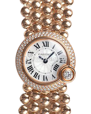 CARTIER WE902057 BALLON BLANC DE CARTIER 24mm PINK GOLD BRAND NEW