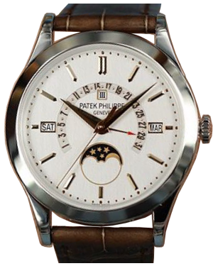 Patek Philippe 5496P-015 Grand Complications 39.5mm Silver Satin Index Platinum Leather BRAND NEW