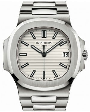 Patek Philippe Nautilus 5711/1A White Index Stainless Steel Men's 40mm BRAND NEW