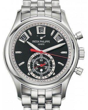Patek Philippe Complications 5960/1A-010 Black Index Stainless Steel 40.5mm Automatic - BRAND NEW