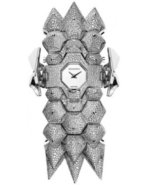 Audemars Piguet Haute Joaillerie Diamond Outrage 67700BC.ZZ.9190BC.01 Mirror Polished Dial Diamond Set White Gold 34mm Quartz - BRAND NEW