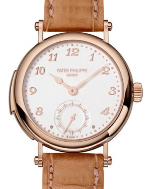Patek Philippe 7000R-001 Grand Complications Ladies 33.7mm Cream Arabic Rose Gold Manual BRAND NEW