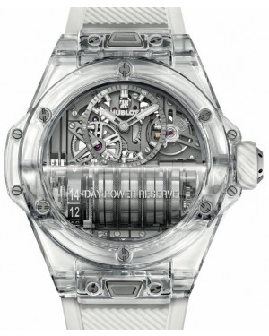 Hublot Big Bang Complications MP-11 Power Reserve 14 Days Sapphire Crystal 45mm Skeleton Dial Rubber Strap 911.JX.0102.RW - BRAND NEW