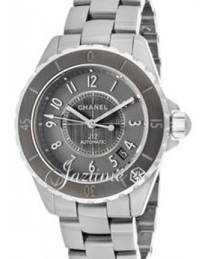 Chanel J12 Chromatic Titanium H2979 Automatic 38mm Gray Ceramic BRAND NEW