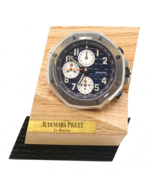 Audemars Piguet Royal Oak Offshore Chronograph MG.CD.AC.AP0100.022.16 Stainless Steel Table Clock - BRAND NEW