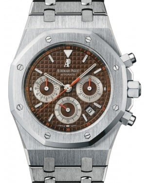 Audemars Piguet Royal Oak Chronograph Stainless Steel Brown 39mm Dial 26300ST.OO.1110ST.08