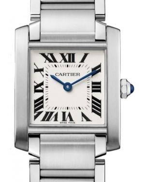 Cartier Tank Francaise Women's Watch Medium Quartz Stainless Steel Silver Dial Stainless Steel Bracelet WSTA0005 - BRAND NEW