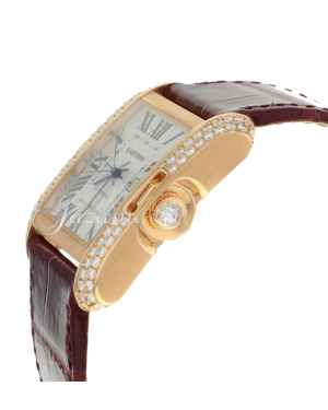 CARTIER WT100016 TANK ANGLAISE 18K PINK GOLD, DIAMONDS - BRAND NEW