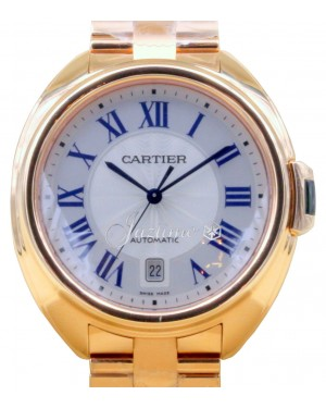 Cartier Cle De Cartier WGCL0002 Men's 40mm 18k Rose Gold BRAND NEW