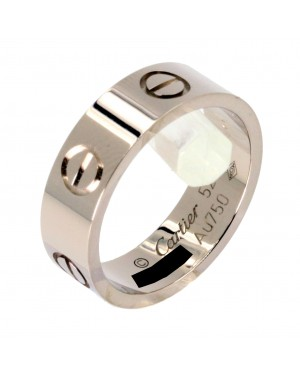 Cartier Love Ring B4084700 White Gold BRAND NEW