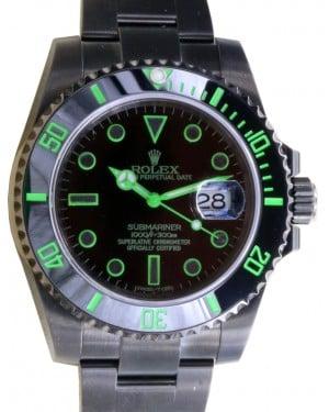 Rolex Submariner Date Stainless Steel PVD DLC Coating Black Dial & Ceramic Bezel Oyster Bracelet 116610LN - BRAND NEW