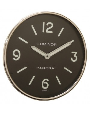 Panerai Luminor Wall Clock Black Arabic / Index Dial
