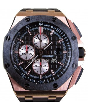 Audemars Piguet Royal Oak Offshore Rose Gold Ceramic 44mm 26401RO.OO.A002CA.01 - PRE-OWNED