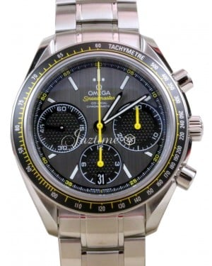 Omega Speedmaster 326.30.40.50.06.001 Racing Co-Axial Grey Stainless Steel Chronograph 40mm BRAND NEW